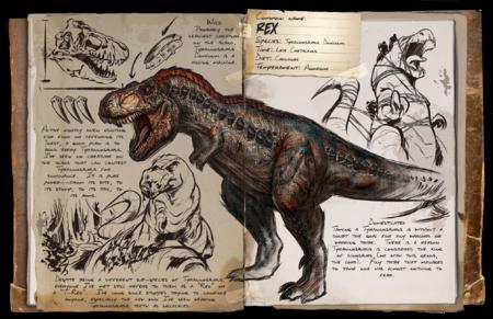 rex | wikia ark survival evolved | fandom poweredwikia