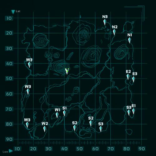 Spawn Loc Map