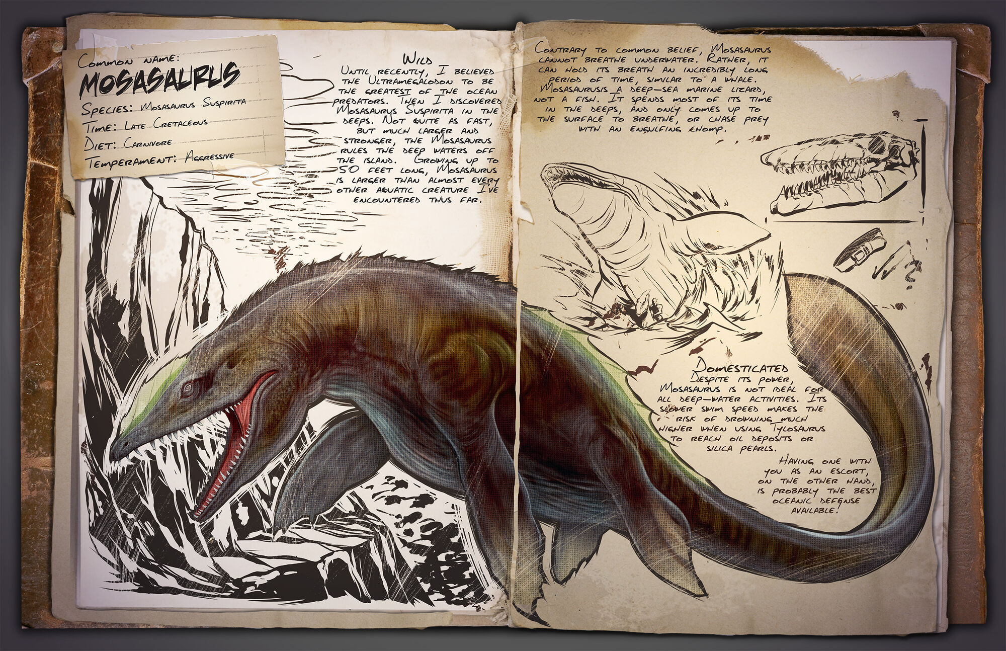 Mosasaurus | ARK: Survival Evolved Wiki | FANDOM powered by