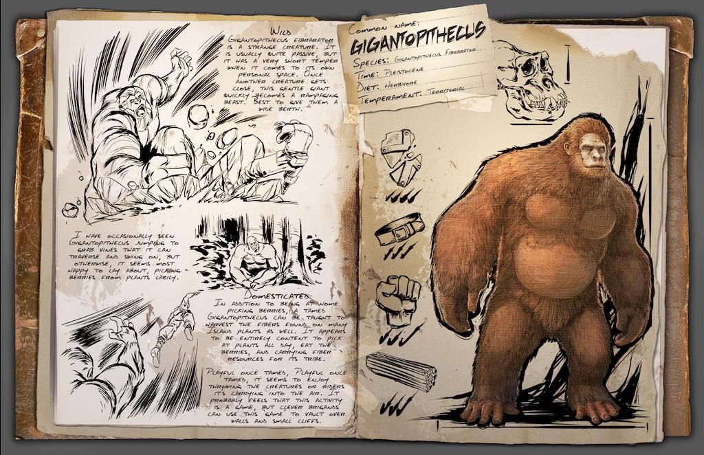 Gigantopithecus | ARK: Survival Evolved Wiki | FANDOM