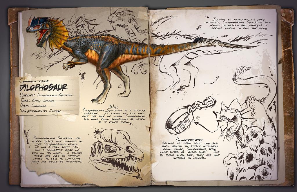 Dilophosaurus | ARK: Survival Evolved Wiki | FANDOM powered by Wikia