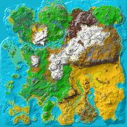Ragnarok Topographic Map