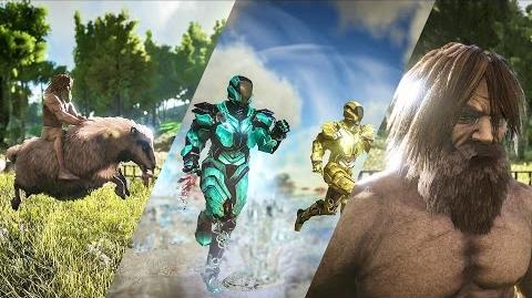 Patch 254 TEK Tier, Purlovia, Baryonyx, Basilosaurus, Ovis, Hair, ARK Sale, and more!