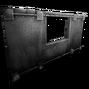 Metal Windowframe Black