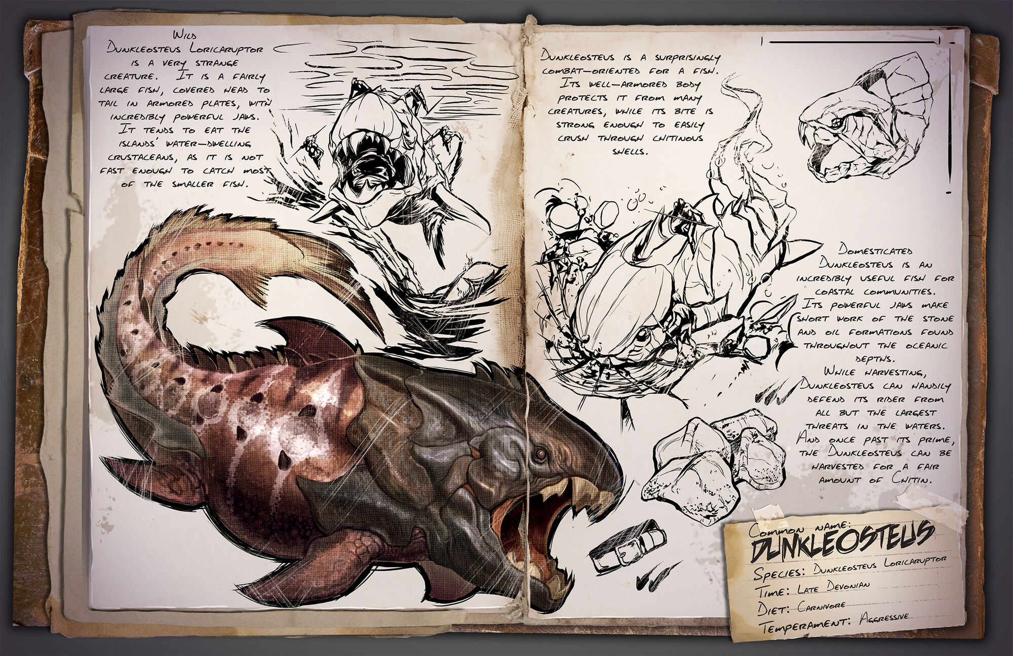 Dunkleosteus | ARK: Survival Evolved Wiki | FANDOM powered