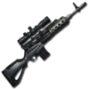 Fabricated Sniper Rifle