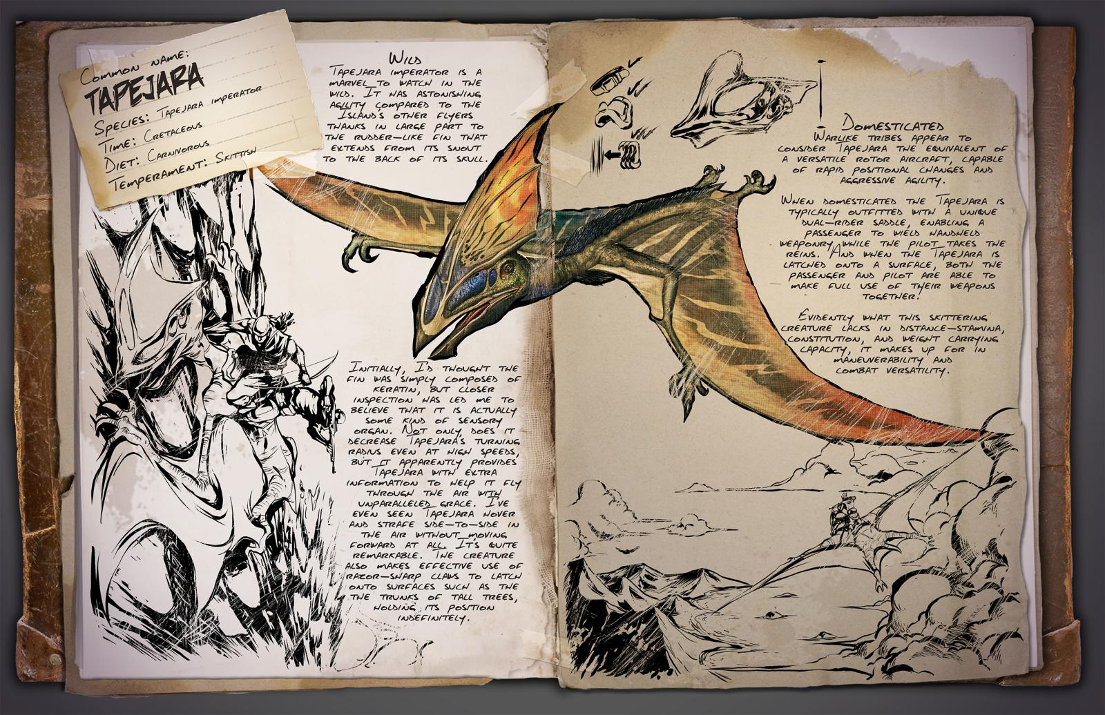Tapejara | ARK: Survival Evolved Wiki | FANDOM powered by Wikia