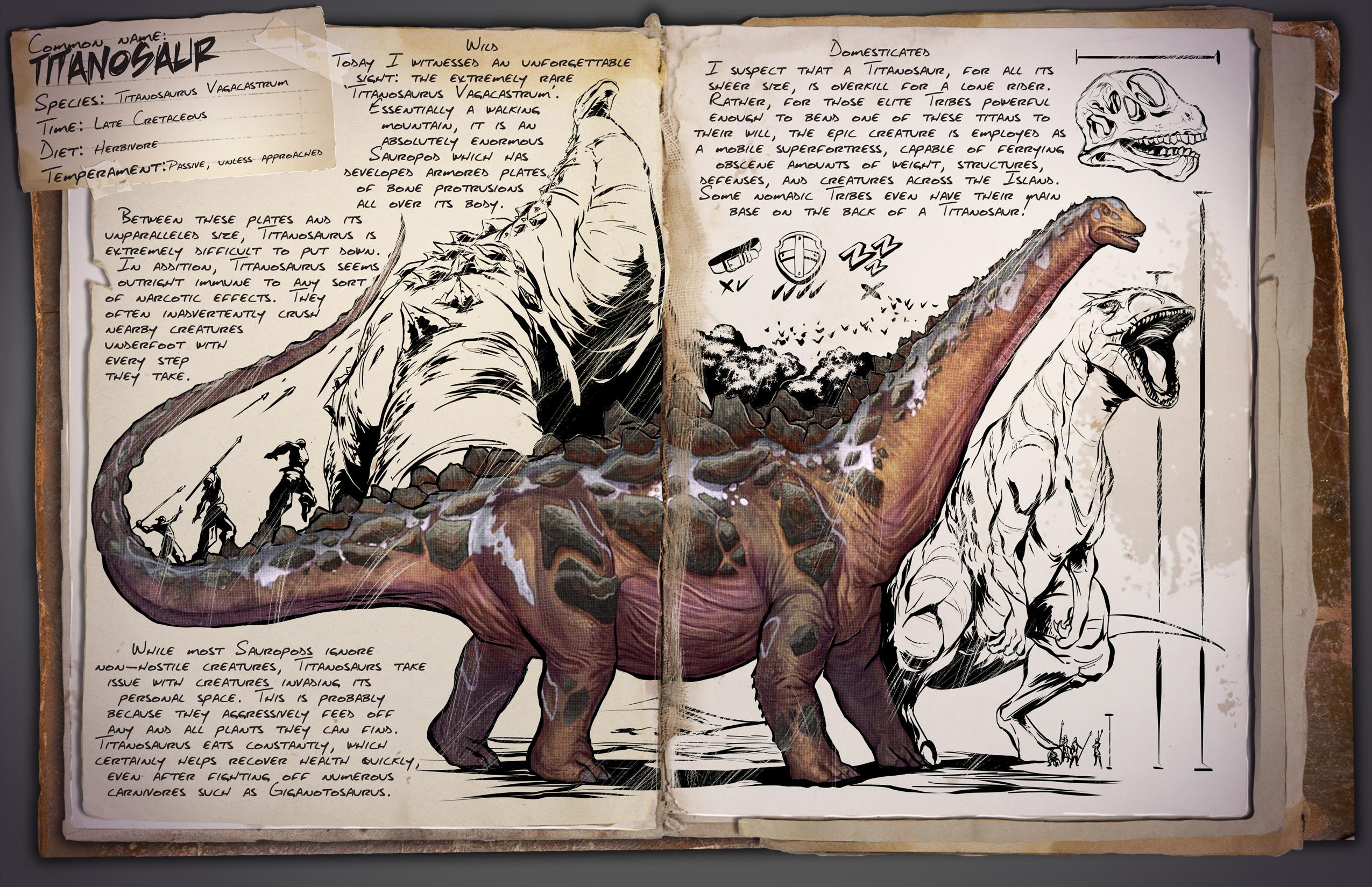 Elegant Titanosaurus
