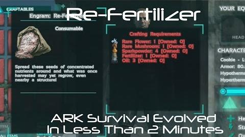 Re-Fertilizer ARK Survival Evolved