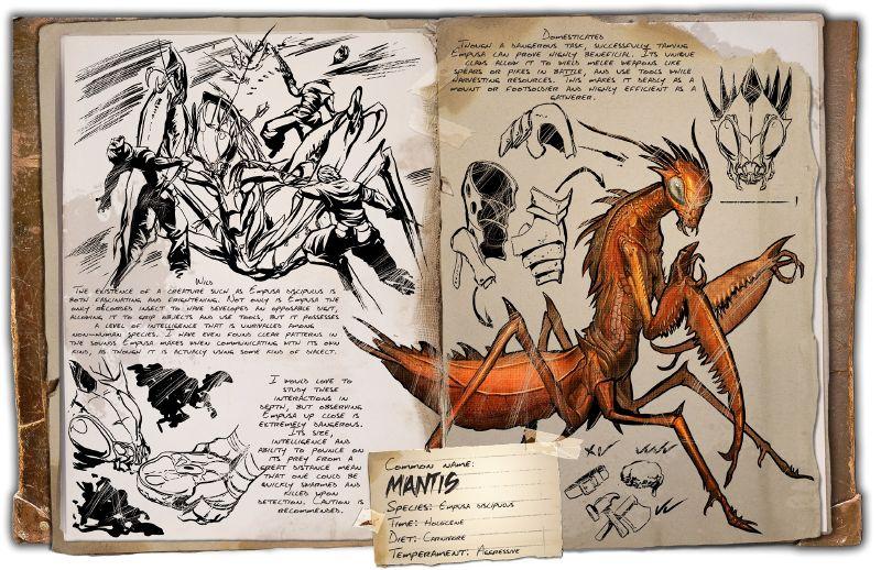 Mantis | ARK: Survival Evolved Wiki | FANDOM powered by Wikia
