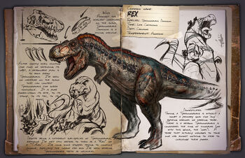 In Ark: Survival Evolved