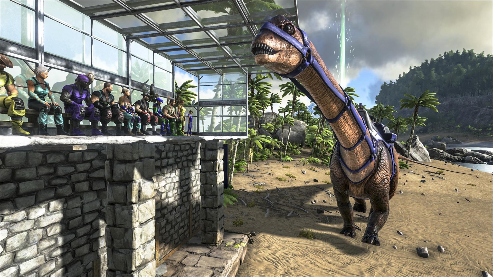 ARK Diplodocus Screenshot 001
