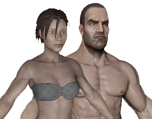Image result for human from ark survival series