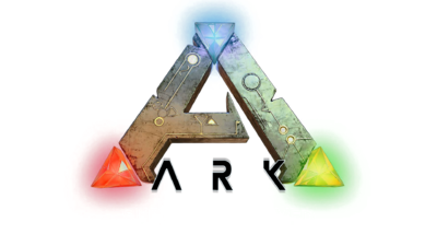 Ark-survival-evolved-wallpaper-logo-fond-blanc