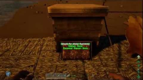 ARK Primitive Plus How to get Honey and Beeswax