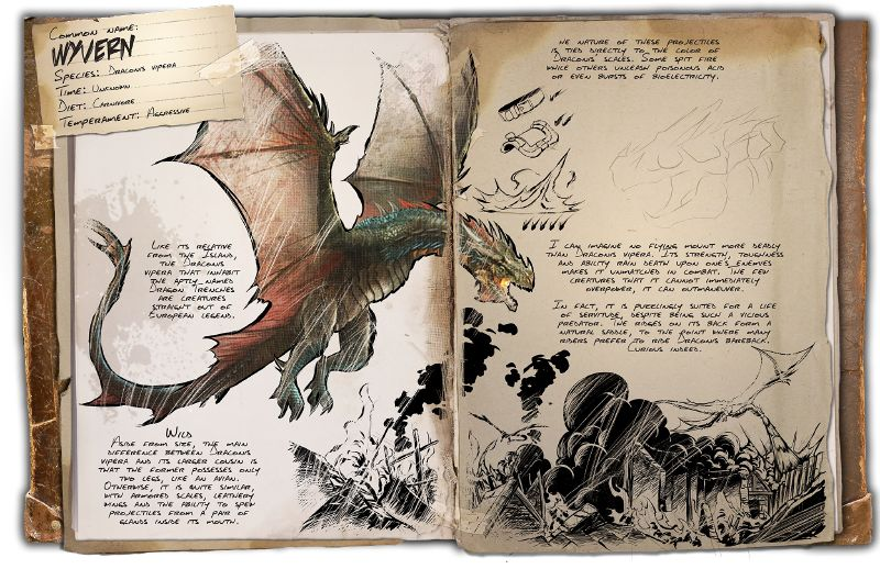 Wyvern | ARK: Survival Evolved Wiki | FANDOM powered by Wikia