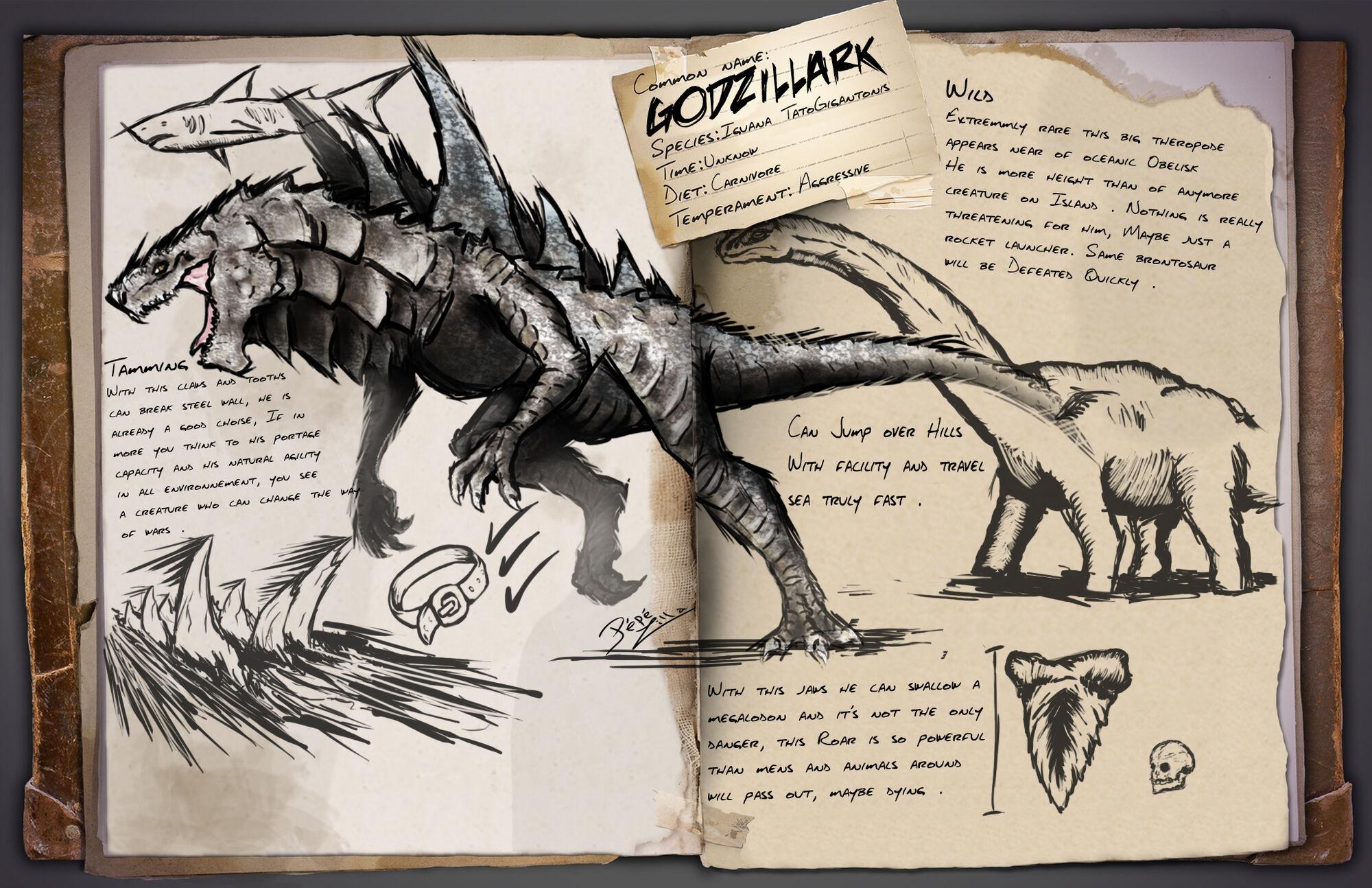 Mods/Godzilla (pepezilla) | ARK: Survival Evolved Wiki | FANDOM