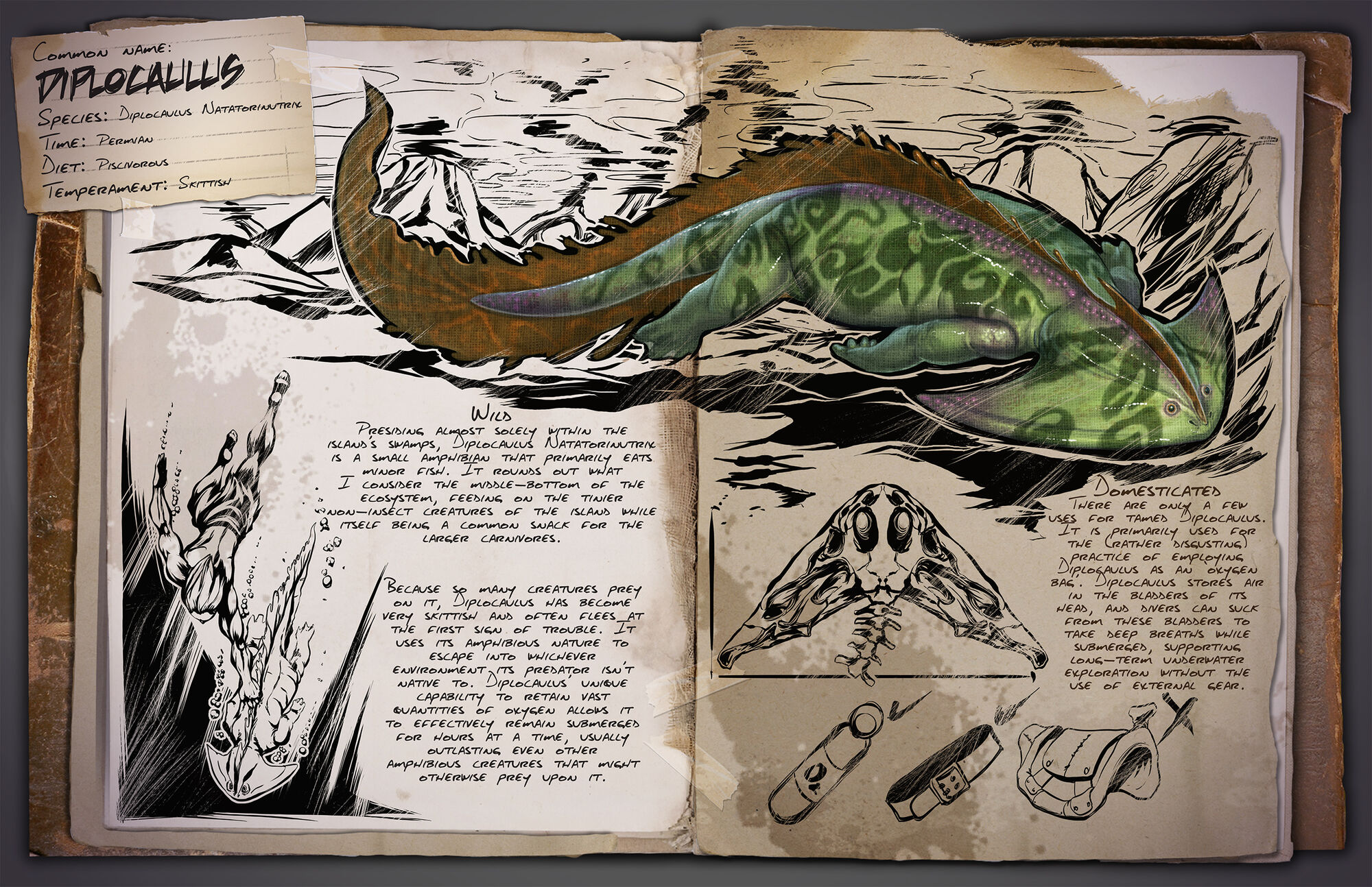 Diplocaulus | ARK: Survival Evolved Wiki | FANDOM powered by Wikia