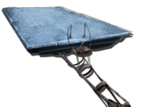 Седло-платформа на Плезиозавра