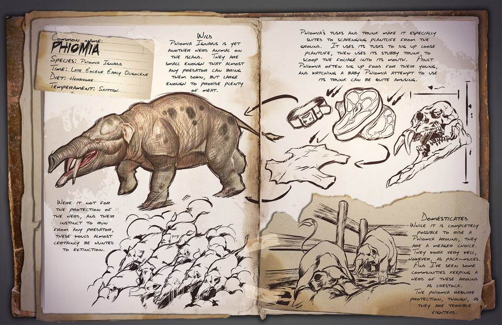 Phiomia | ARK: Survival Evolved Wiki | FANDOM powered by Wikia