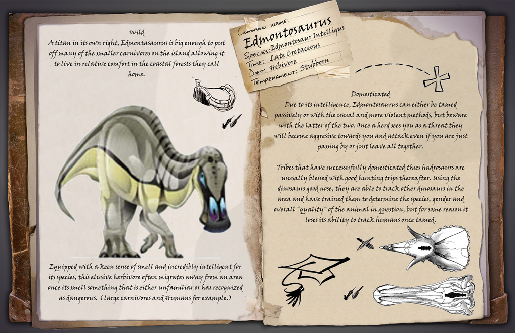 Fan Art/Edmontosaurus (Scriffignano) | ARK: Survival Evolved