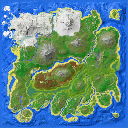 Map The Island