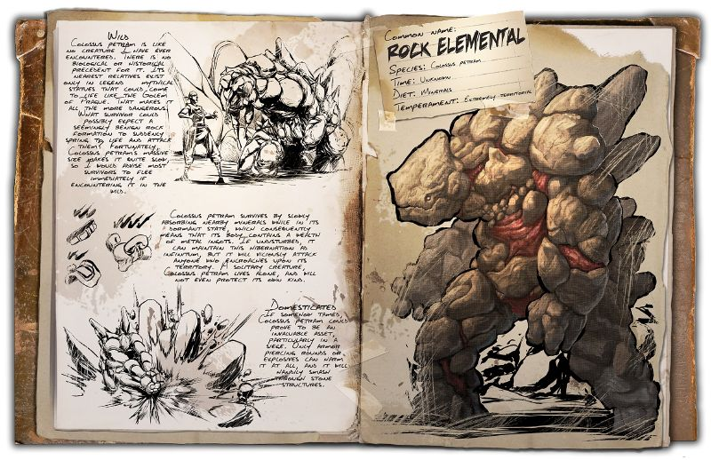 Rock Elemental | ARK: Survival Evolved Wiki | FANDOM powered