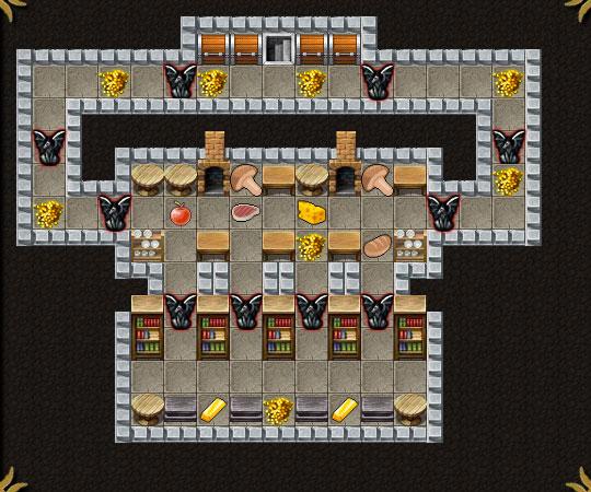 Dungeon Layout 7