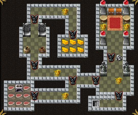Dungeon Layout 18