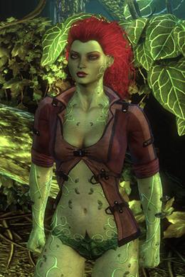 Poison ivy-Arkham city