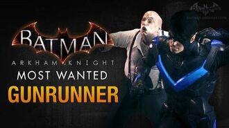 Batman- Arkham Knight - Gunrunner (Penguin)