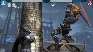 Batman vs Deathstroke Boss Arkham Origins Mobile