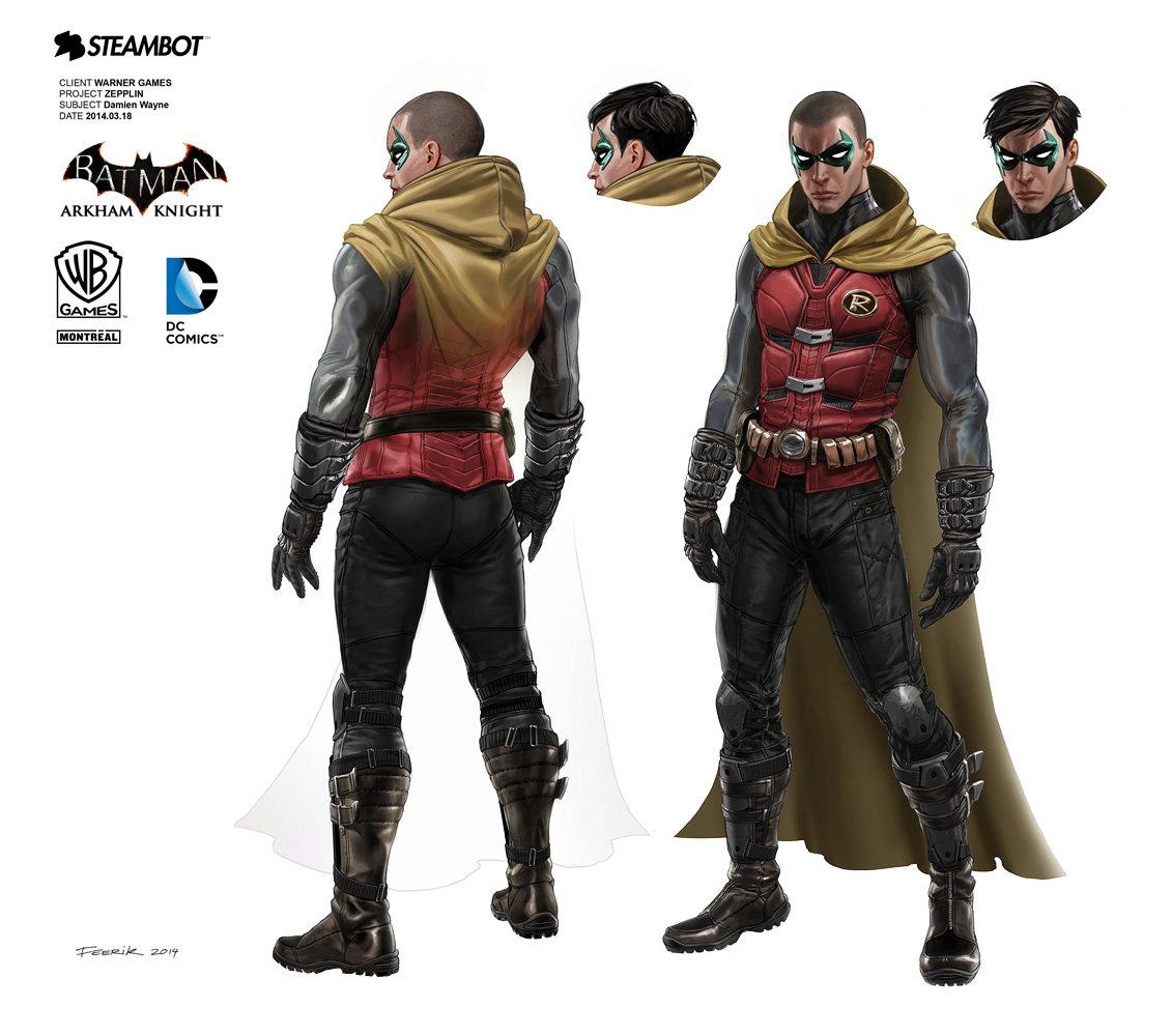 Batman Arkham Concept Art