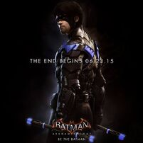 Nightwing Batman Arkham Knight promo ad
