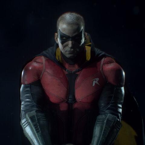 Tim em <i>Arkham Knight</i>.