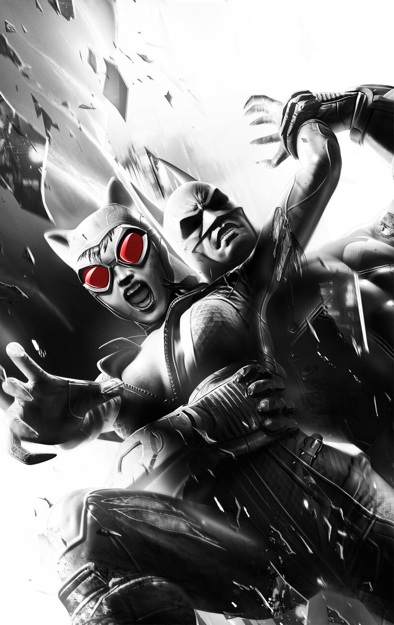 Batman Catwoman Arkham City Wallpaper 3