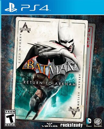 Batman Return To Arkham Arkham Wiki Fandom