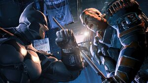 Batman vs deathstroke