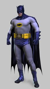 Adam west batman suit