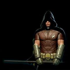Robin em <i>Arkham City</i>.