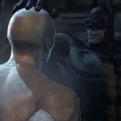 Batman confronta Sr. Frio.