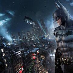 Batman em Arkham City.