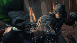 Bats Joker-punch