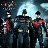 Bat-family trio