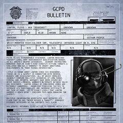 Perfil do DPGC do Pistoleiro.