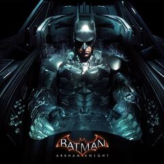 Promocional do Batman no Batmóvel para <i><a href=