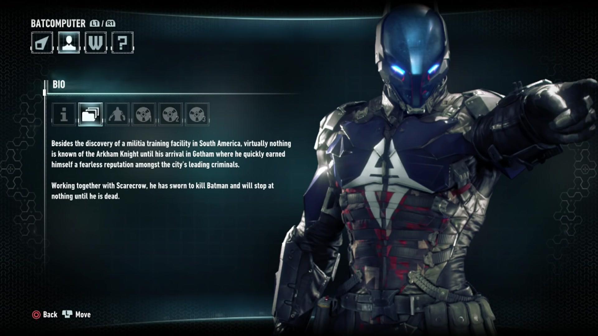 Batman Arkham Knight All Character Bios 023