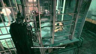 Batman Arkham Knight - villains conversations (Scarecrow's attack)