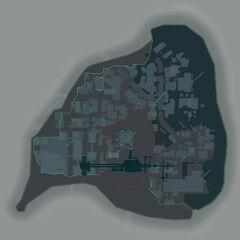 Mapa de Arkham City.