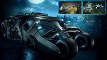 The Tumbler Challenge map Batman Arkham Knight